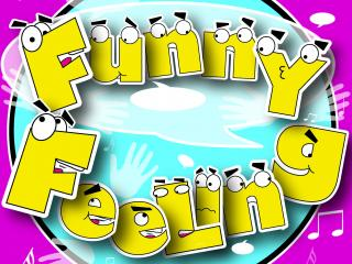 Funny Feeling party game design