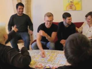 Game played with adults and teens